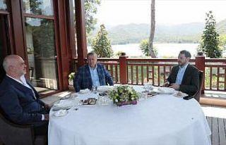 Cumhurbaşkanı Erdoğan, Arnavutluk Başbakanı Rama'yı...