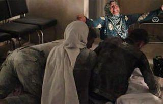 Esed rejiminin hava saldırısında dört çocuğunu...