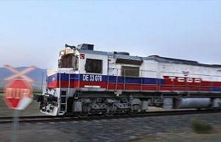 Türkiye ile Gürcistan arasındaki ilk ihracat treni...