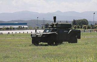 Türkiye'nin elektrikli zırhlısı ilk kez araziye...