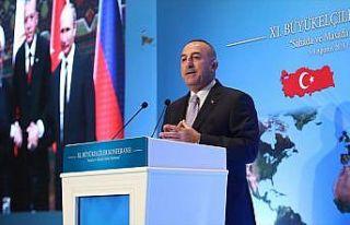 Dışişleri Bakanı Çavuşoğlu: Avrupa ve Asya'yı...