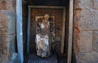 Kibele Heykeli restorasyonun ardından Ordu'ya getirilecek