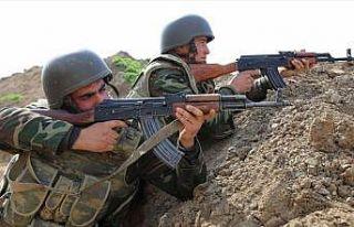 Azerbaycan-Ermenistan cephe hattında bir asker şehit...