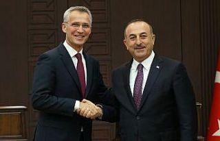 Çavuşoğlu NATO Genel Sekreteri Stoltenberg ile...