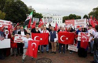 ABD'deki Türklerden Barış Pınarı Harekatı'na...