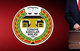 35 Baro Başkanlığı, TBB'de olağanüstü genel...