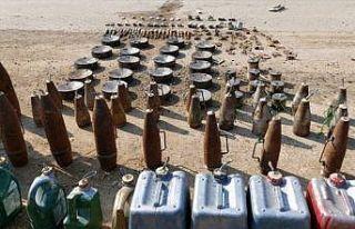 Barış Pınarı Harekatı bölgesinde 331 mayın...