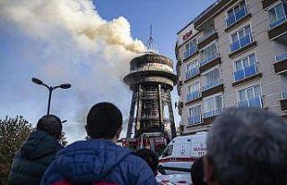 Başkentte gök bilim merkezinde yangın