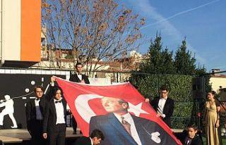 Bursalı Öğrenciler Atatürk'ü Unutmadı