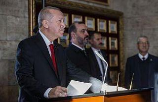 Cumhurbaşkanı Erdoğan: Cumhuriyetimizi ilelebet...