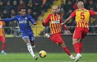 Fenerbahçe Kayseri deplasmanından puansız dönüyor
