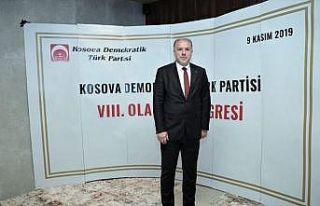 Kosova Demokratik Türk Partisinin yeni genel başkanı...