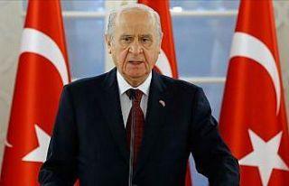 MHP Genel Başkanı Bahçeli: Türkiye bugün çok...