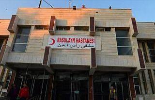 Teröristlerin tahrip ettiği Rasulayn Hastanesi şifa...