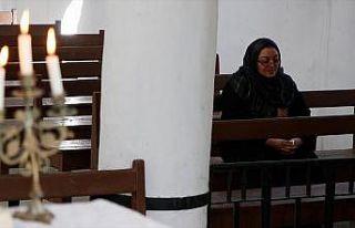 Türkiye'nin onardığı Tel Abyad'daki Ermeni Kilisesi...