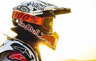 Dakar Rallisi'nde Red Bull sporcusu Laia Sanz sahne...