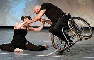 Tekerlekli sandalye dansçısının hedefi engellilerin...