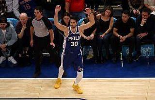 NBA'de Sixers'a galibiyeti, kariyer rekoru kıran...