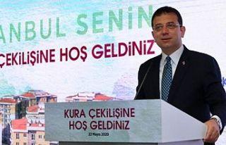 """İMAMOĞLU'NDAN """"ASGARİ ÜCRETLE EV SAHİBİ..."""