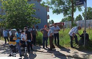 Kocaeli'de kamyonetle otomobil çarpıştı: 4 yaralı