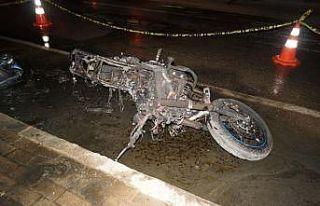 Bursa'da traktöre çarpan motosikletin sürücüsü...