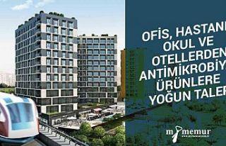 Ofis, hastane, okul ve otellerden antimikrobiyal ürünlere...
