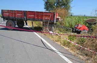 Bursa'da traktörle motosiklet çarpıştı: 1 ölü,...