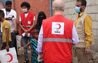Yemen'de Türk Kızılay'ından rekor et...