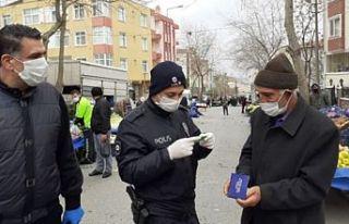Kovid-19 tedbirlerine uymayan 285 kişiye para cezası