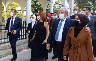 TBMM Başkanı Şentop ile PAB Başkanı Barron Tekirdağ'ı...