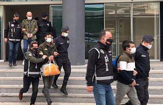 Bursa merkezli silah kaçakçılığı operasyonunda...