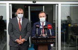 İçişleri Bakanlığı Sözcüsü Çataklı, Sakarya'da...