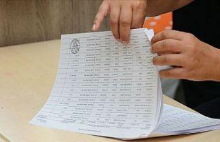 KKTC halkı cumhurbaşkanı seçiminin ikinci turu...
