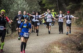 5. İda Ultra Maratonu Kovid-19 tedbirleri kapsamında...