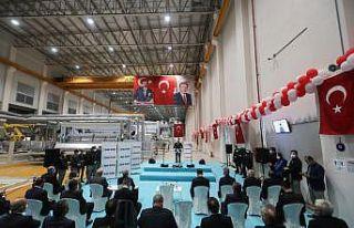 Bakan Varank, Tekirdağ'da elyaf fabrikası açılışında...