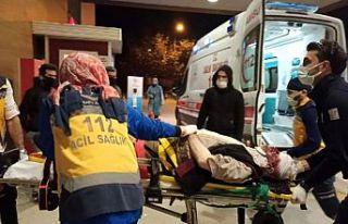 Bursa'da devrilen arazi aracının sürücüsü...