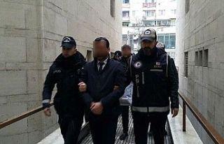 Bursa'da suç örgütü davasının sanıkları...
