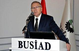 BUSİAD Başkanı Türkay TCMB'nin faiz kararını...