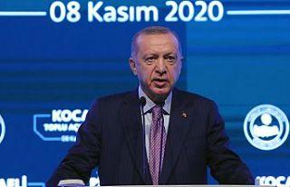 Cumhurbaşkanı Erdoğan, Kocaeli'de toplu açılış...
