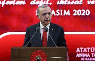 Cumhurbaşkanı Erdoğan: Modern kapitülasyonlara...