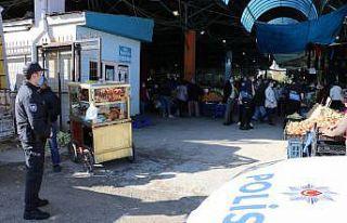 Edirne'de polisten Bulgarca Kovid-19 uyarısı