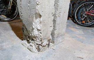 Edirne'de taşıyıcı kolonlarında sorun belirlenen...