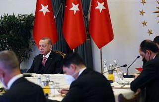 Erdoğan: Irkçılıkla mücadelenin yolu güç birliği...