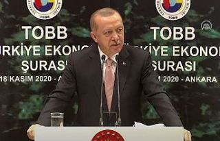 Erdoğan: Ülkemiz şahlanış dönemine giriyor