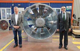 Fan üreterek Türkiye'ye 60 milyon Avro tasarruf...