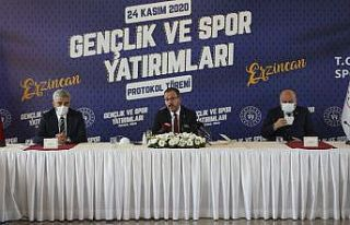 Gençlik ve Spor Bakanlığından Erzincan'a...