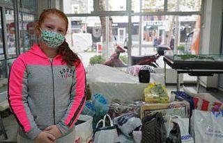 10 yaşındaki Ekin İzmir'e gözyaşları içinde...