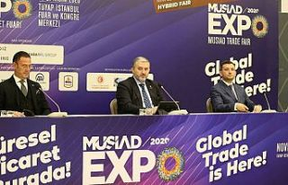 """MÜSİAD EXPO 2020 Ticaret Fuarı"" 18 Kasım'da..."