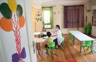 Okul öncesi eğitim kurumları yüz yüze eğitim...