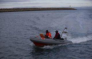 Saros Körfezi'nde kaybolan 2 kişiyi arama çalışması...